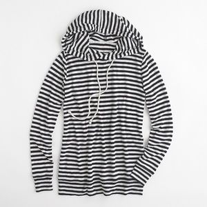 J. Crew | Nautical Hooded Pullover